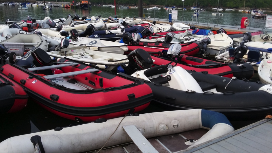 Dinghy parking in Salcombe – now where did I put it??